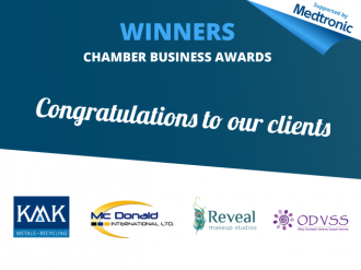 Success at Tullamore Chamber of Commerce Awards 2016