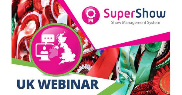 Upcoming Webinar - SuperShow Event Management Software Demonstration