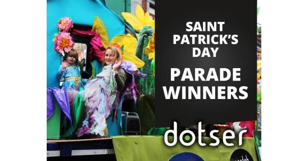 Best Business Entry at Saint Patrick's Day Parade in Tullamore