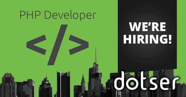 We Are Hiring! Experienced Web Developers and Sales Personnel