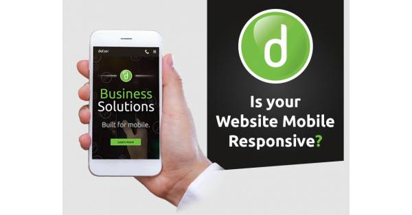 Is your website mobile responsive? Don't let your business get left behind.