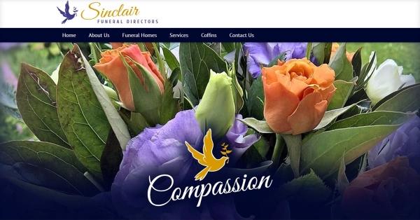 Funeral Directors Web Design Ireland