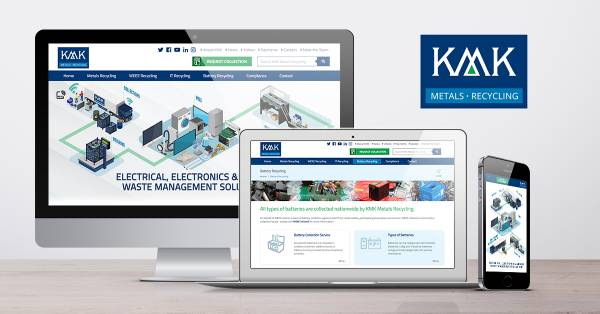 New website for KMK Metals Recycling