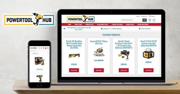 Power Tool Hub Driving Sales Online