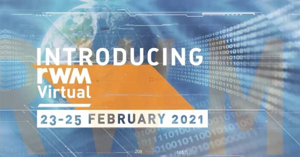 JOIN US AT RWM VIRTUAL ON 23 -25 FEBRUARY 2021