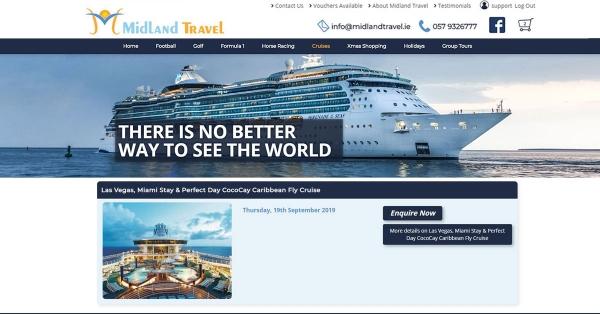 Travel Agency eCommerce