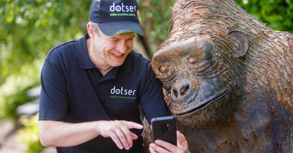 Dotser Representing Tech Companies at the Ploughing Enterprise Village