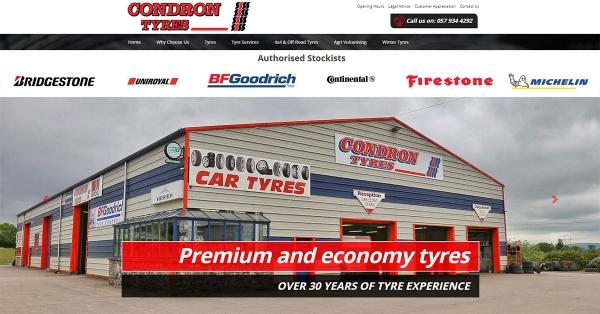 Tyres Web Design