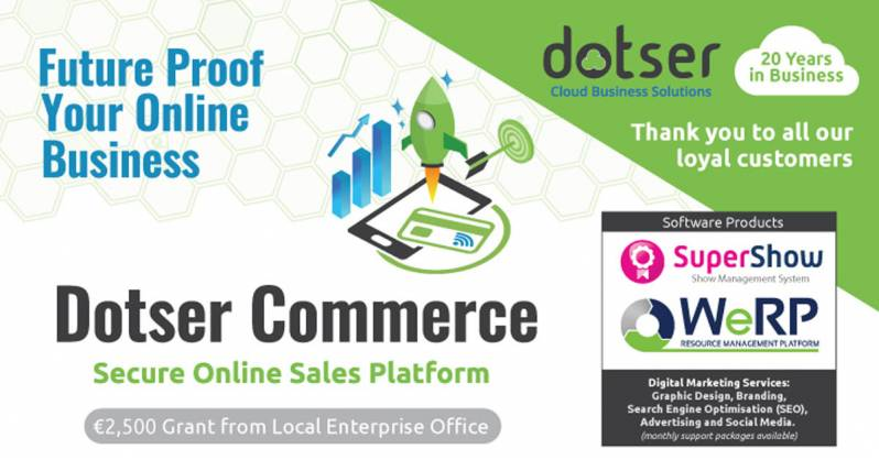 Dotser Commerce 20 Years