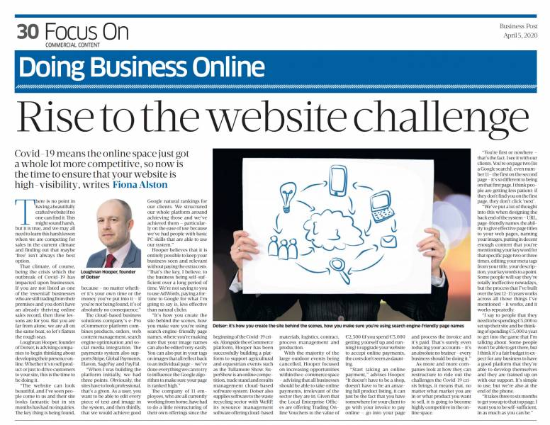 Rise to the Website challenge