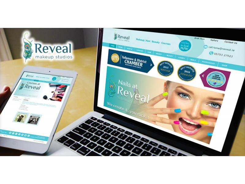 reveal-makeup-studios-tullamore-co-offaly-ireland-mobile-responsive