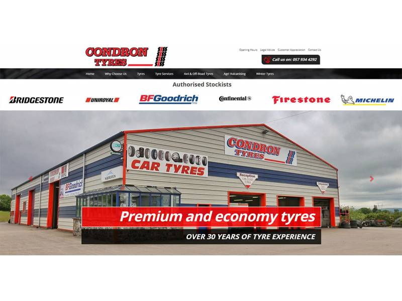 tyres-web-design